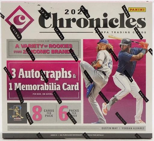 2020 Panini Chronicles Baseball Hobby Box-Cherry Collectables