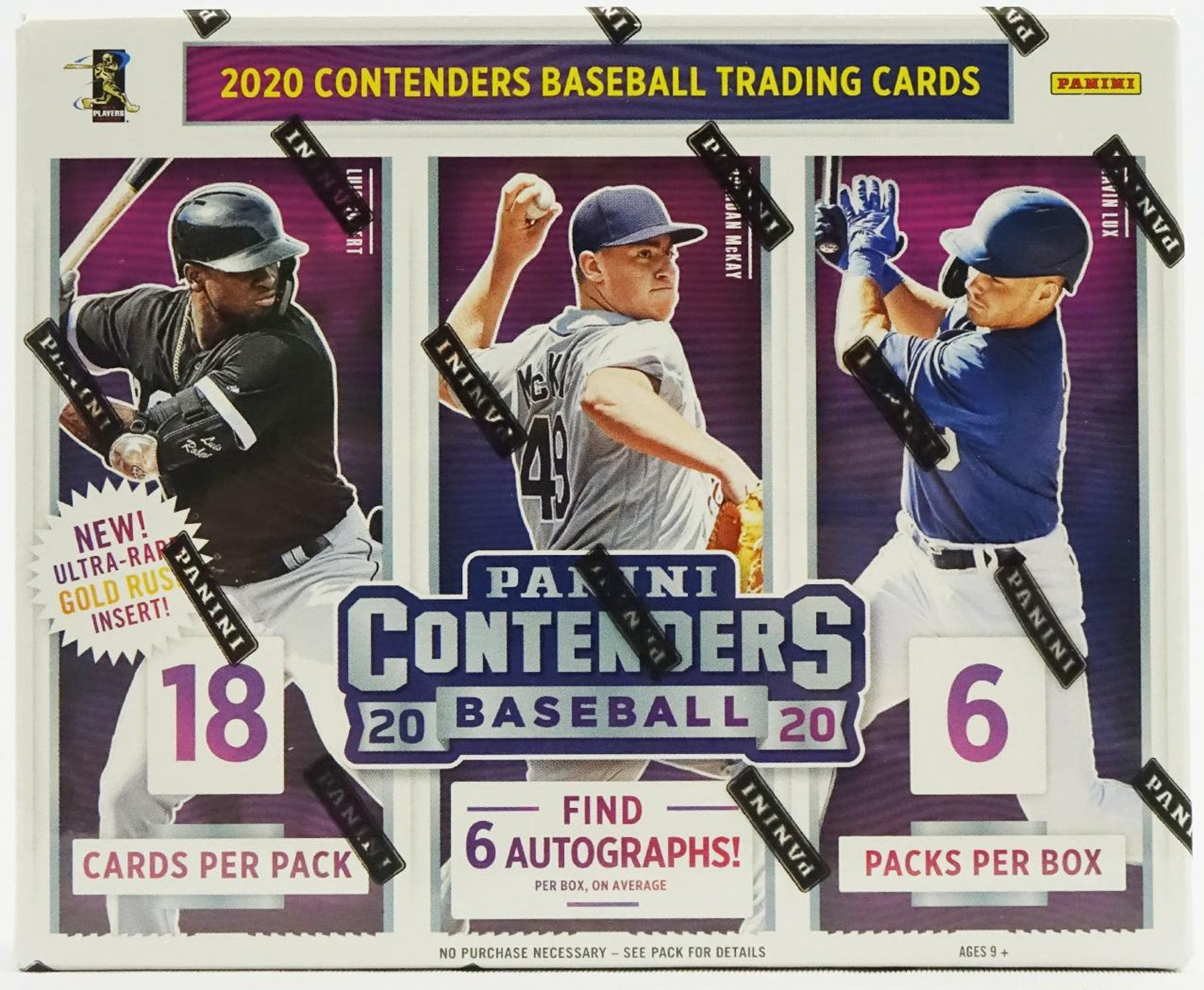 2020 Panini Contenders Baseball Hobby Box-Cherry Collectables