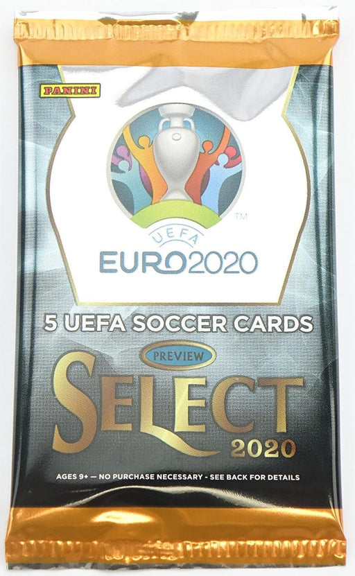 2019-20 Panini Select UEFA EURO Soccer Hobby Pack-Cherry Collectables