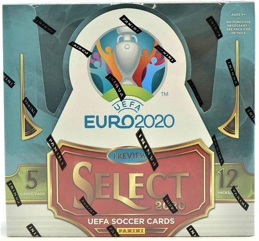 2019-20 Panini Select UEFA EURO Soccer Hobby Box-Cherry Collectables