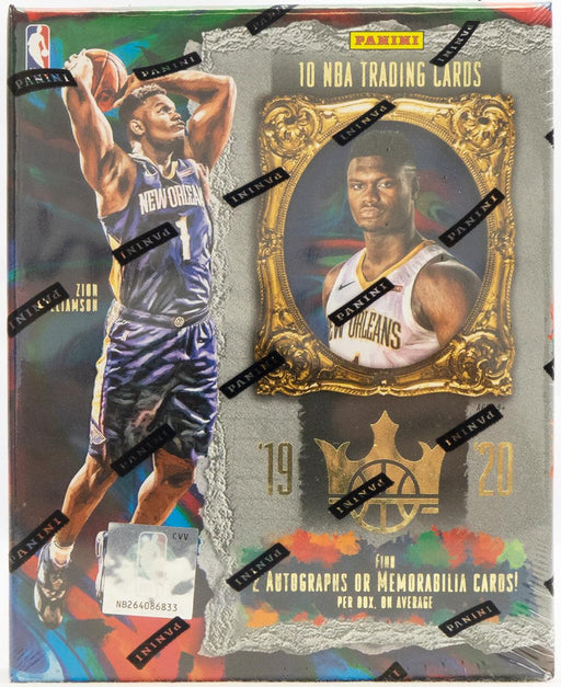 2019-20 Panini Court Kings Basketball Hobby Box-Cherry Collectables