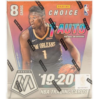 2019-20 Panini Mosaic Choice Basketball Hobby Box-Cherry Collectables