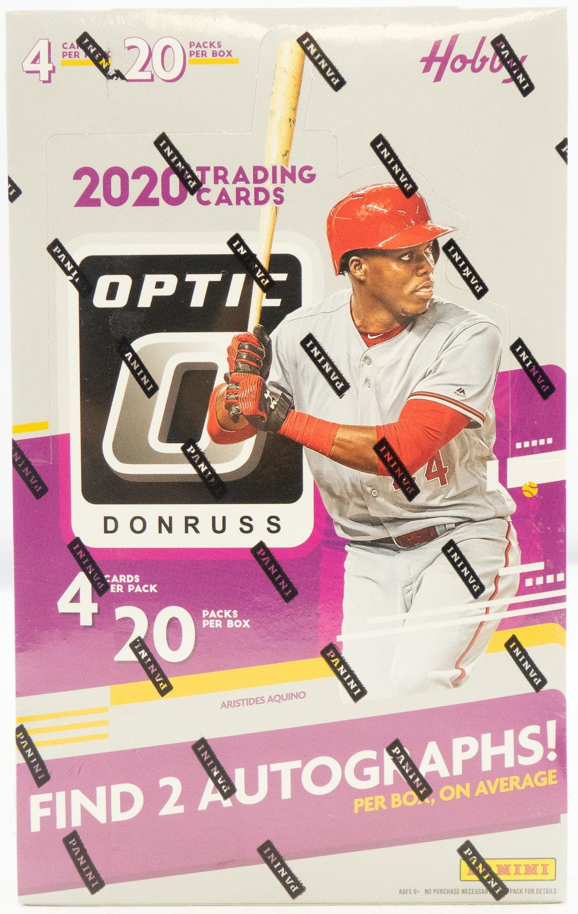 2020 Panini Donruss Optic Baseball Hobby Box-Cherry Collectables