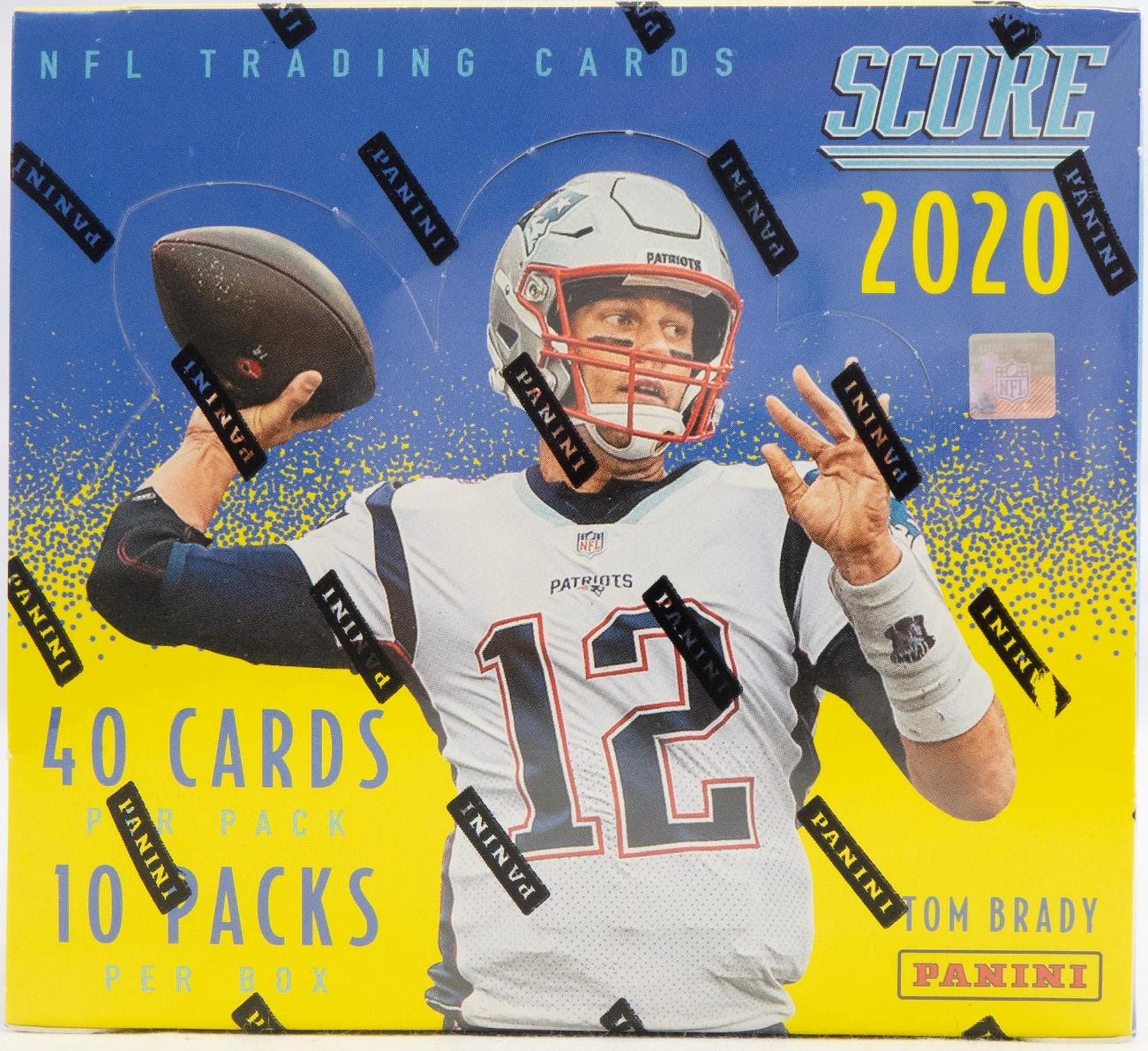 2020 Panini Score Football Hobby Box-Cherry Collectables