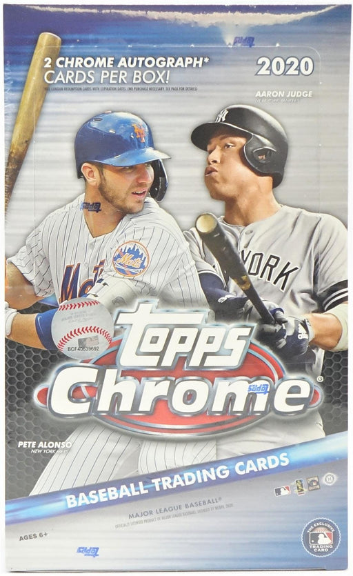 2020 Topps Chrome Baseball Hobby Box-Cherry Collectables