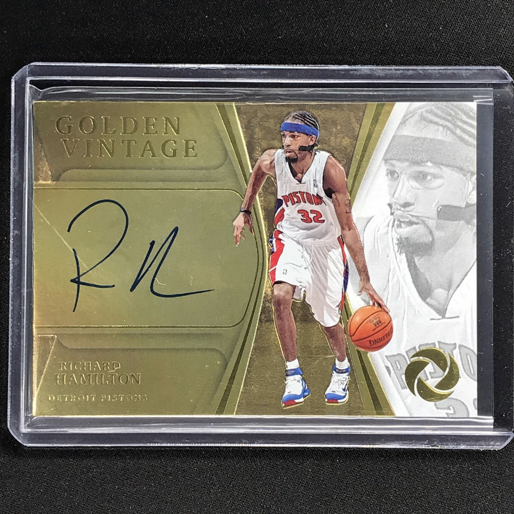2019-20 Opulence RICHARD HAMILTON Golden Vintage Auto 8/25-Cherry Collectables