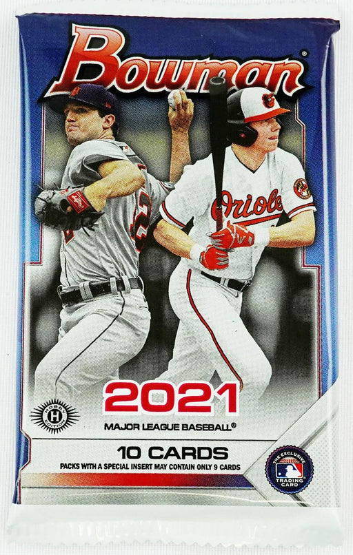 2021 Bowman Baseball Hobby Pack