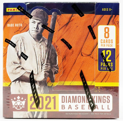 2021 Panini Diamond Kings Baseball Hobby Box