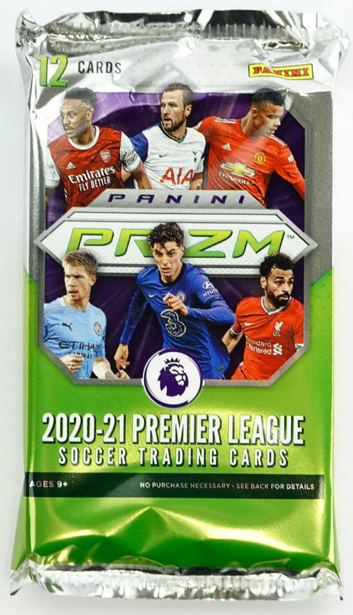 2020-21 Panini English Premier League EPL Prizm Hobby Pack-Cherry Collectables