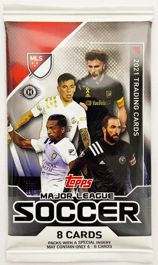 2021 Topps MLS Major League Soccer Hobby Pack