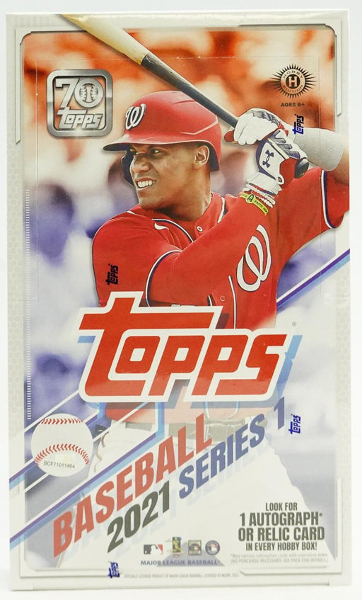2021 Topps Series 1 Baseball Hobby Box-Cherry Collectables