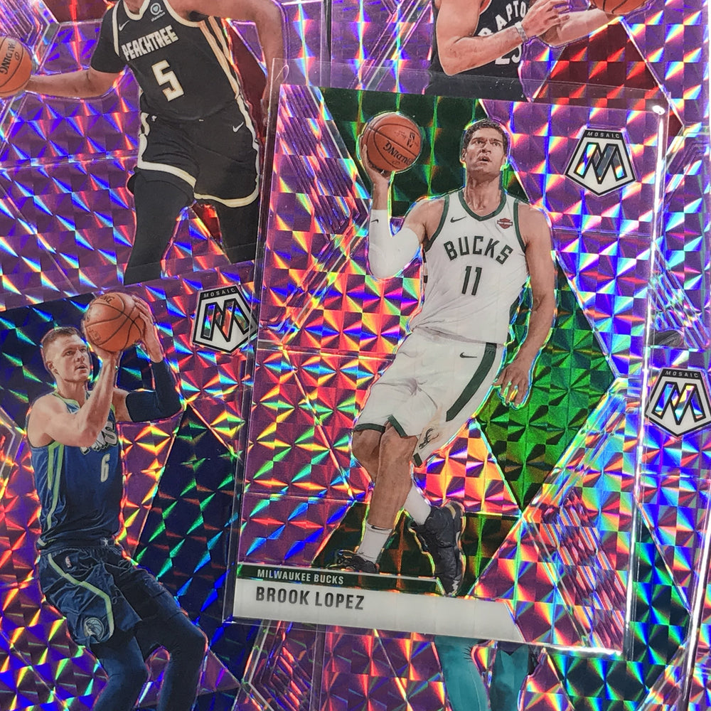 2019-20 Mosaic MEYERS LEONARD Purple Mosaic Prizm 29/49-Cherry Collectables
