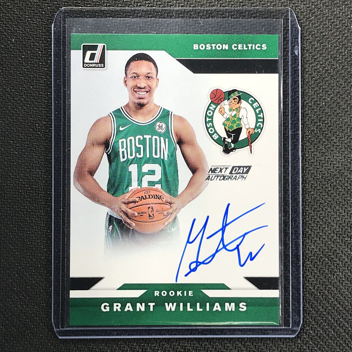 2019-20 Donruss GRANT WILLIAMS Next Day Auto Rookie #GWL - #1-Cherry Collectables