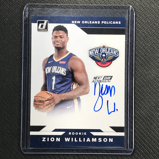 2019-20 Donruss ZION WILLIAMSON Next Day Auto Rookie #ZWL-Cherry Collectables