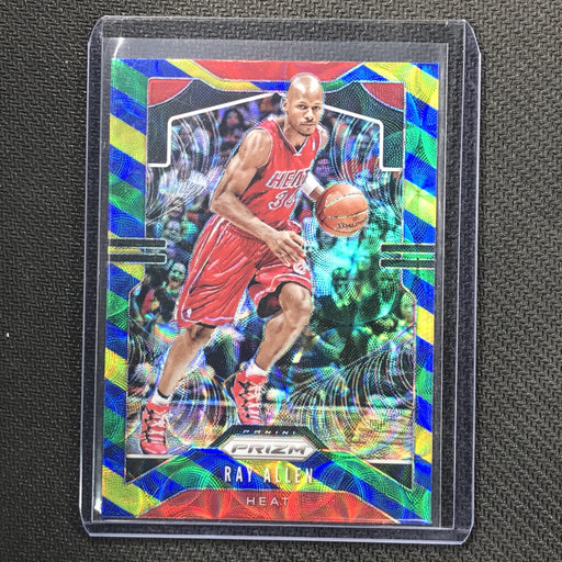 2019-20 Prizm RAY ALLEN Blue Yellow Green Prizm #22-Cherry Collectables