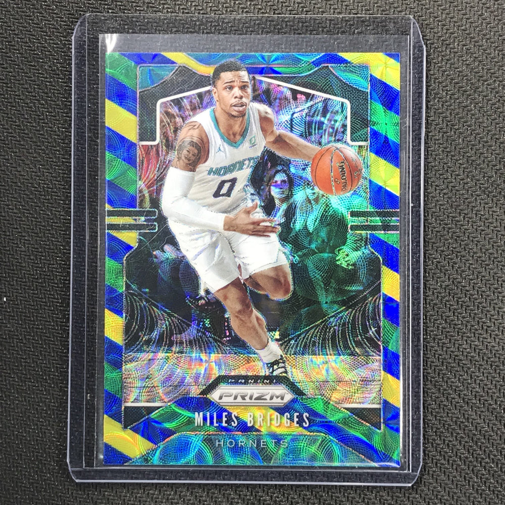 2019-20 Prizm MILES BRIDGES Blue Yellow Green Prizm #55-Cherry Collectables