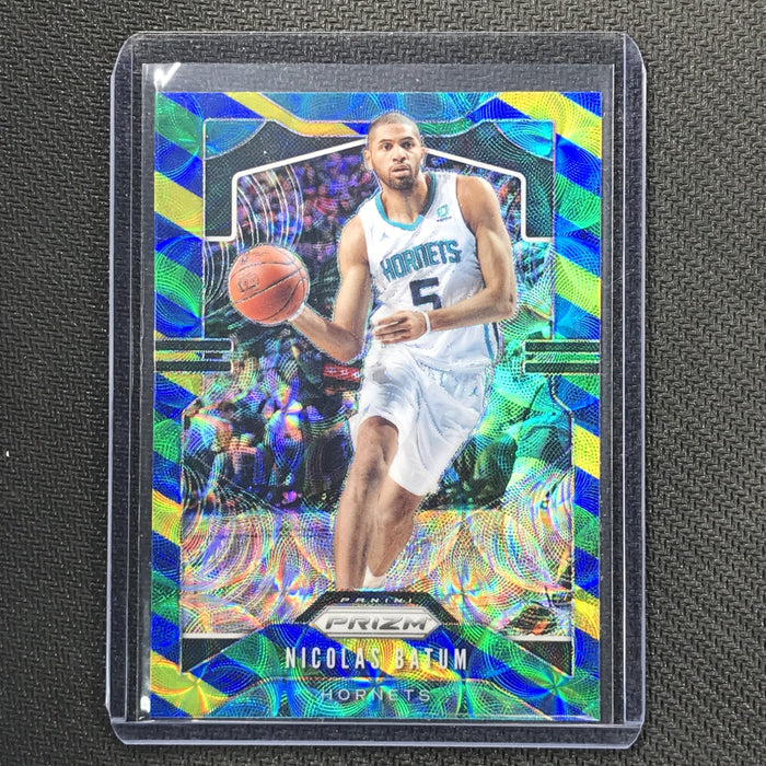 2019-20 Prizm NICOLAS BATUM Blue Yellow Green Prizm #57-Cherry Collectables