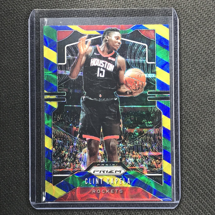 2019-20 Prizm CLINT CAPELA Blue Yellow Green Prizm #110-Cherry Collectables