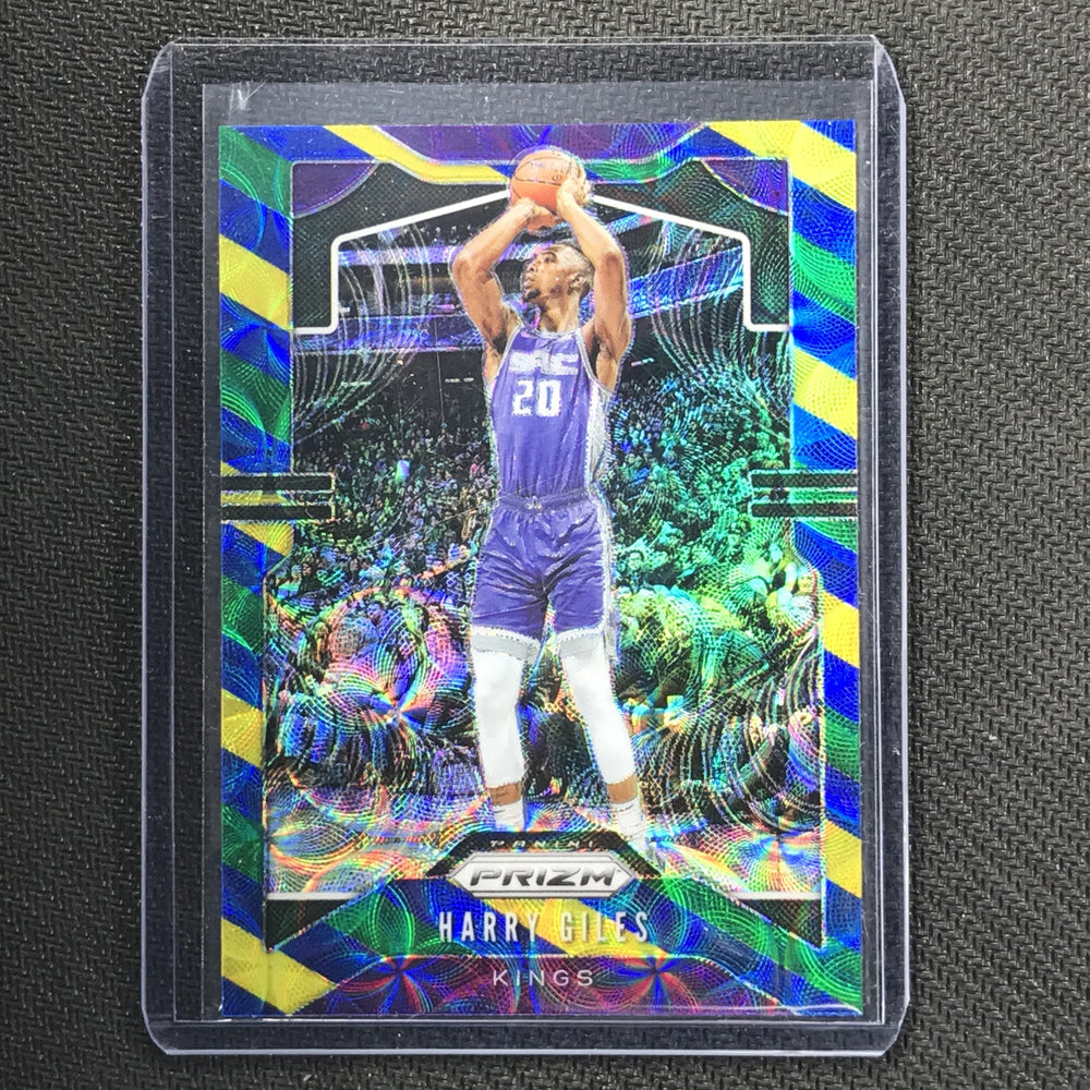2019-20 Prizm HARRY GILES Blue Yellow Green Prizm #128-Cherry Collectables