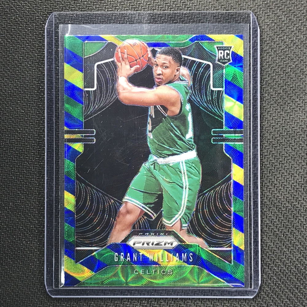 2019-20 Prizm GRANT WILLIAMS Blue Yellow Green Prizm #267-Cherry Collectables