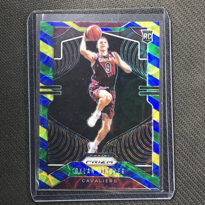 2019-20 Prizm DYLAN WINDLER Blue Yellow Green Prizm #270-Cherry Collectables
