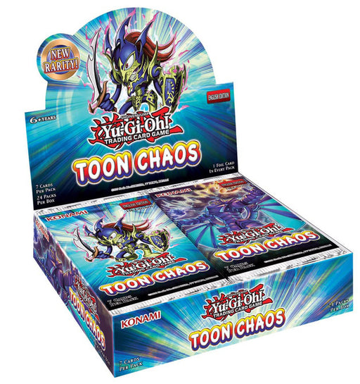 Yu-Gi-Oh! TCG Toon Chaos Booster Box Unlimited-Cherry Collectables