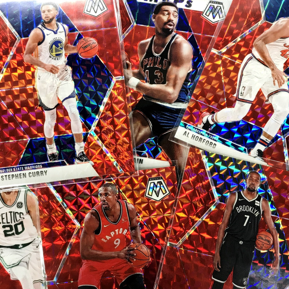2019-20 Mosaic STEPHEN CURRY CHOICE Prizm Fusion Red /88 #70-Cherry Collectables