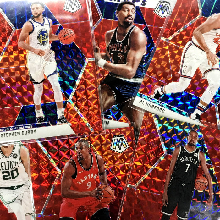 2019-20 Mosaic CJ MCCOLLUM CHOICE Prizm Fusion Red /88 #15-Cherry Collectables
