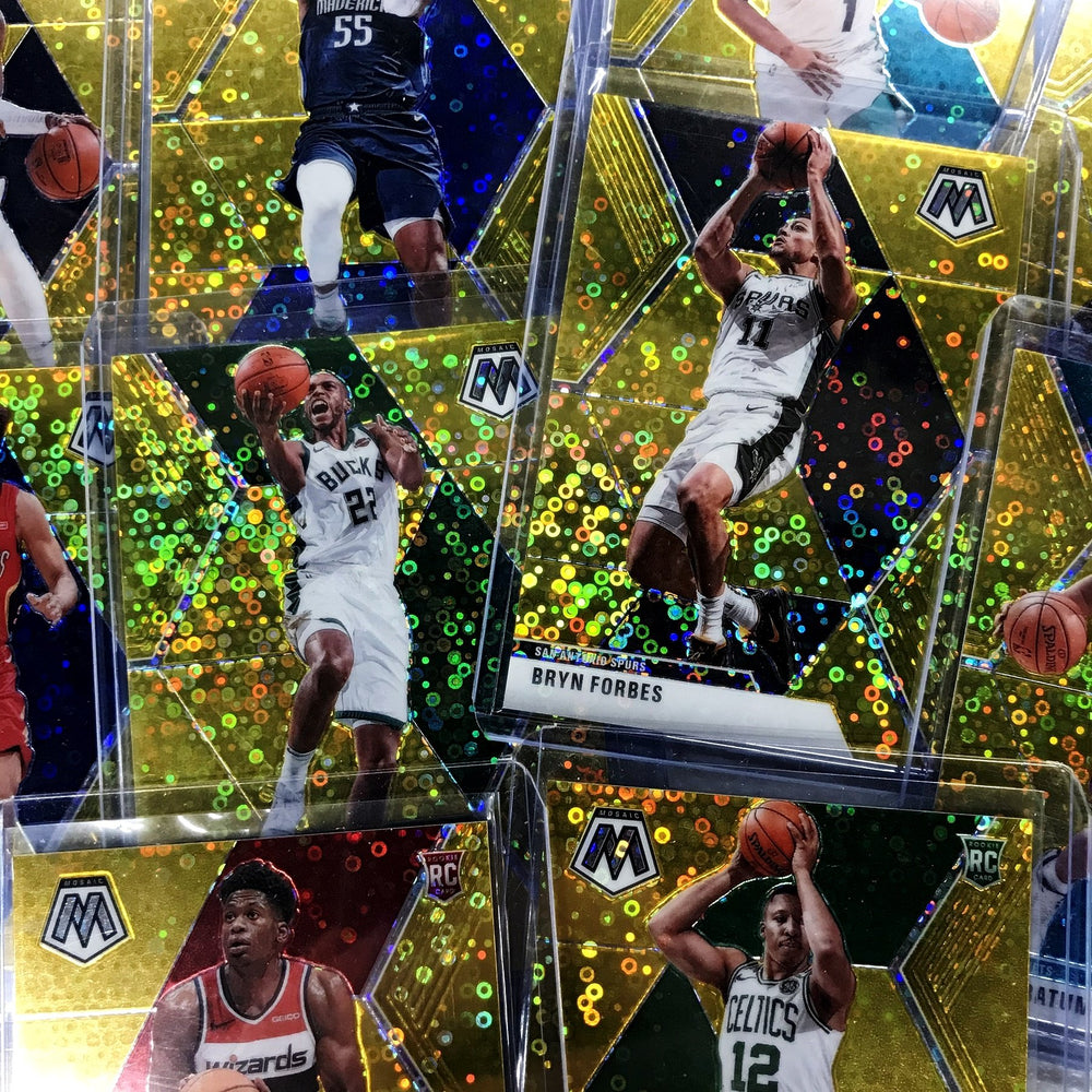 2019-20 Mosaic DELON WRIGHT Gold FAST BREAK Prizm 1/10-Cherry Collectables