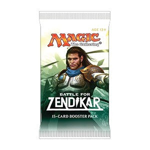 Magic the Gathering Battle for Zendikar Booster Pack-Cherry Collectables