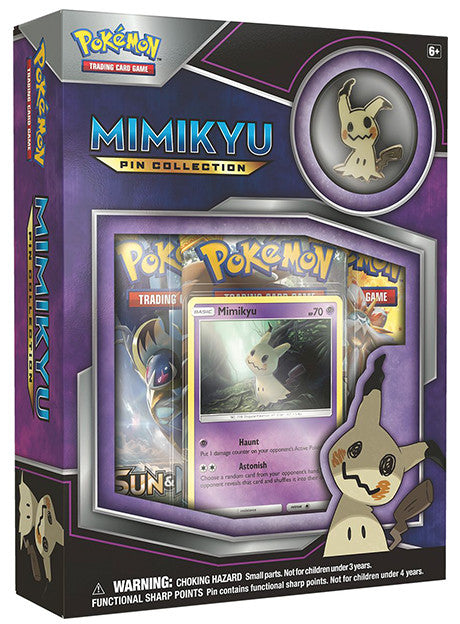 Pokemon TCG Pin Collection - Mimikyu-Cherry Collectables