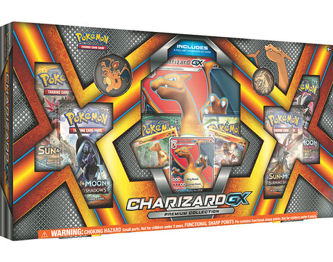 Pokemon TCG GX Premium Collection Charizard (Pre Order Sep)-Cherry Collectables