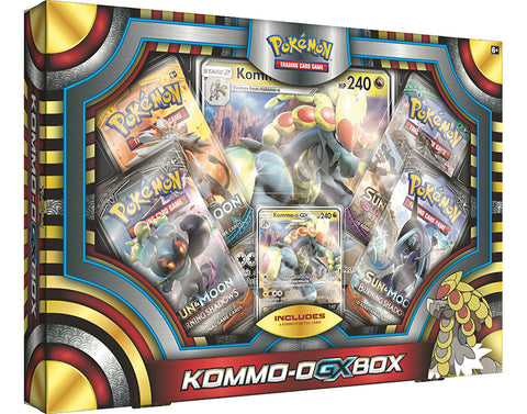 Pokemon TCG Kommo-O GX Box (Pre Order Sep)-Cherry Collectables