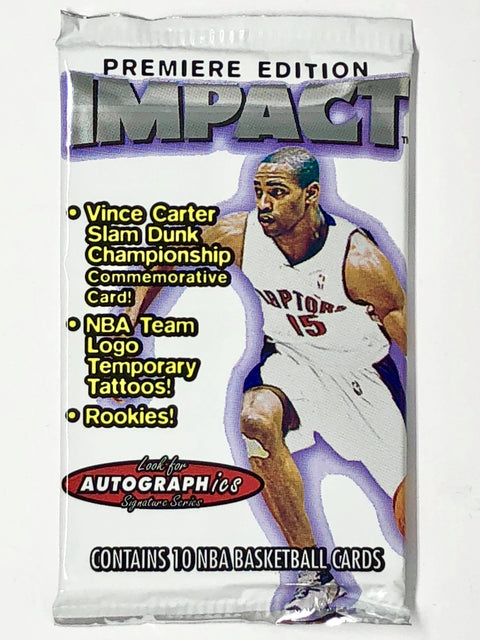 1999-00 Skybox Impact Basketball Premiere Edition Hobby Pack-Cherry Collectables