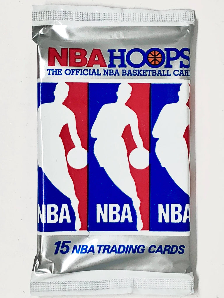 1990-91 NBA Hoops Basketball Series 1 Hobby Pack-Cherry Collectables