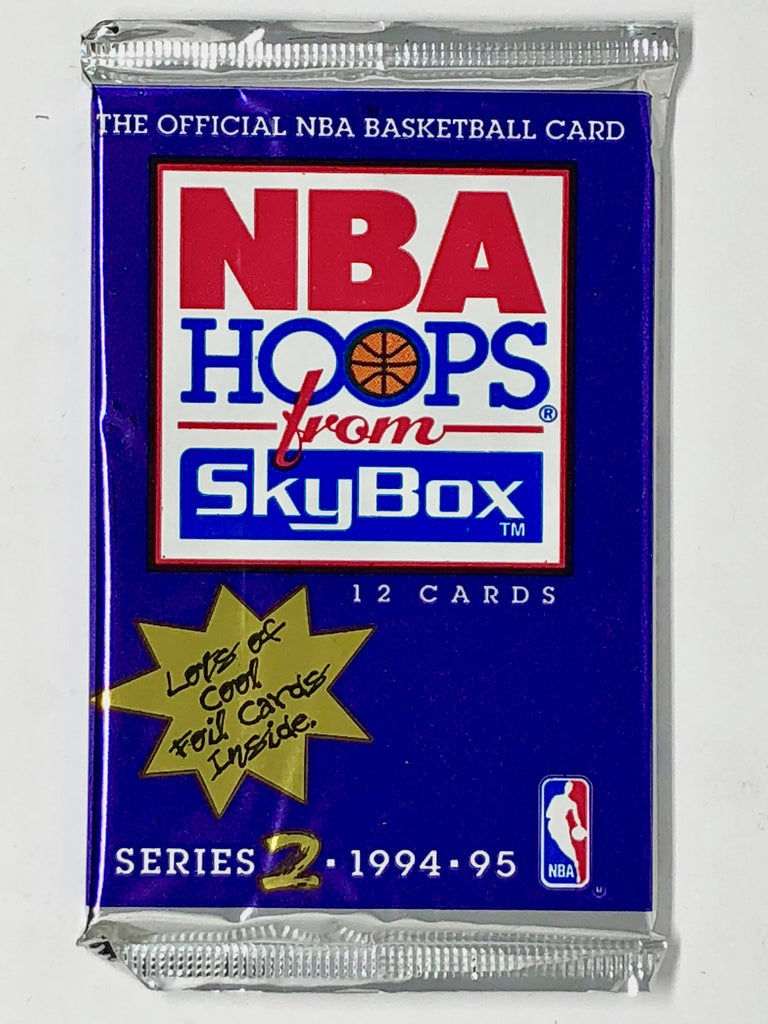 1994-95 Skybox NBA Hoops Basketball Hobby Pack-Cherry Collectables