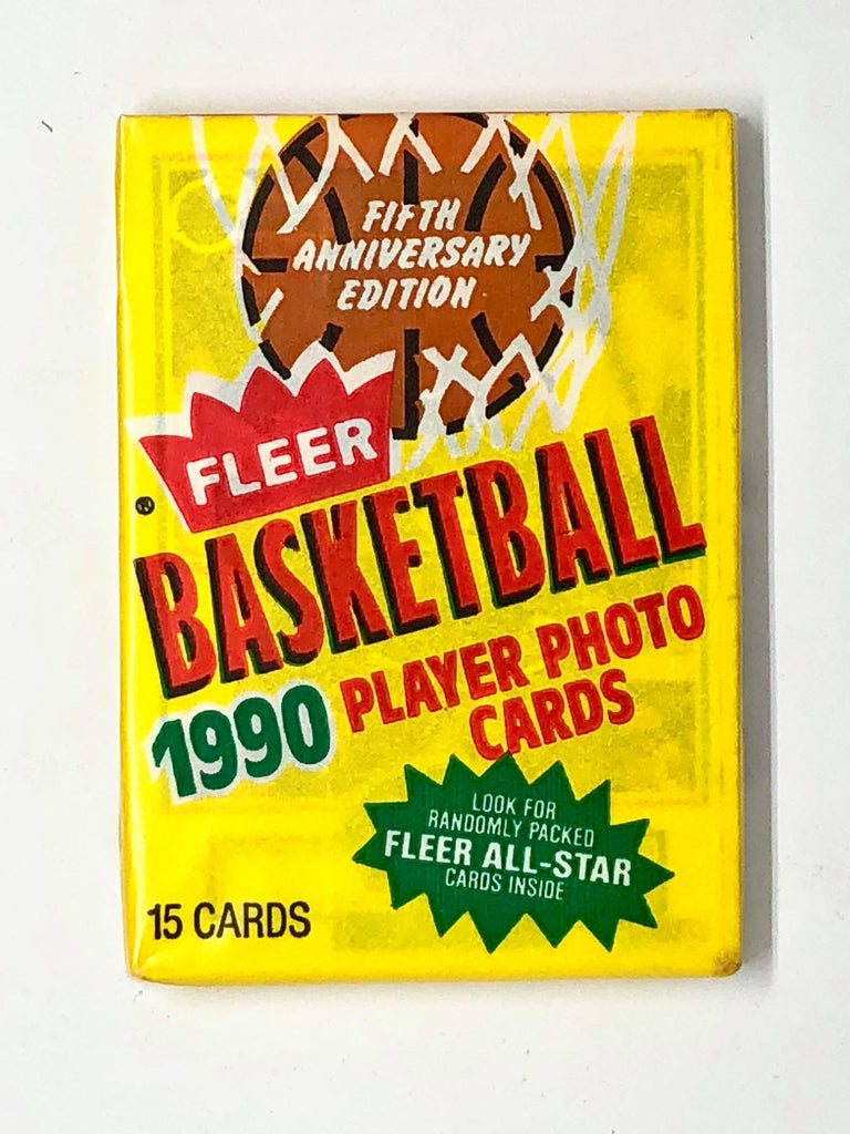 1990-91 Fleer Basketball Hobby Pack-Cherry Collectables