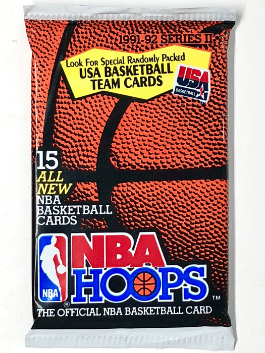 1991-92 NBA Hoops Basketball Hobby Series 2 Pack-Cherry Collectables