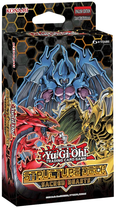 YU-GI-OH! TCG Structure Deck Sacred Beasts 3-Deck Combo-Cherry Collectables
