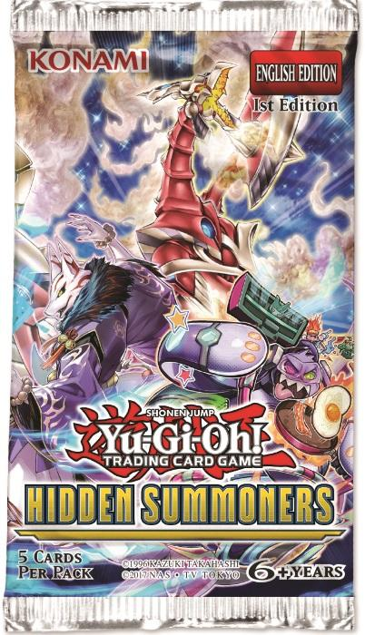 Yu-Gi-Oh! TCG Hidden Summoners Booster Pack-Cherry Collectables
