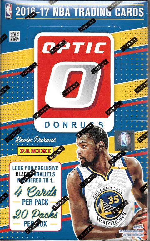 2016/17 Donruss Optic Basketball Retail Box-Cherry Collectables