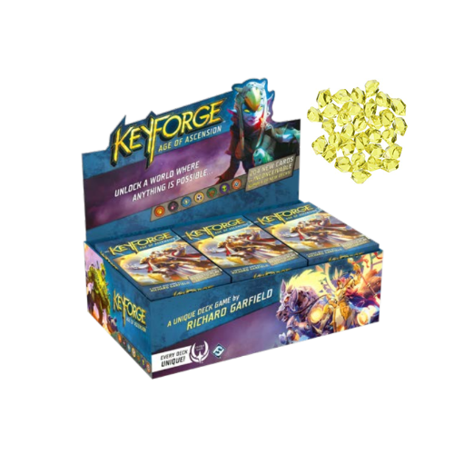 KEYFORGE Age of Ascension 12-Deck Display Box-Cherry Collectables