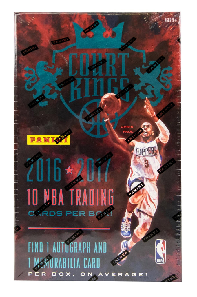 2016/17 Panini Court Kings Basketball Hobby Box-Cherry Collectables
