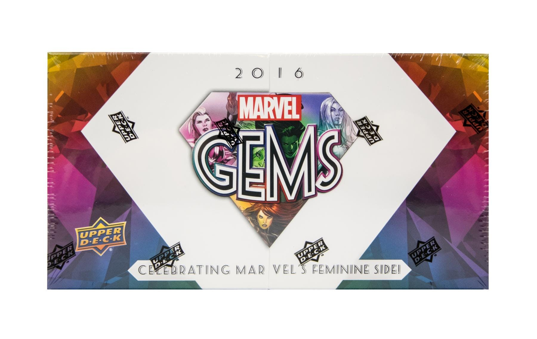 2016 Upper Deck Marvel Gems Hobby Box-Cherry Collectables