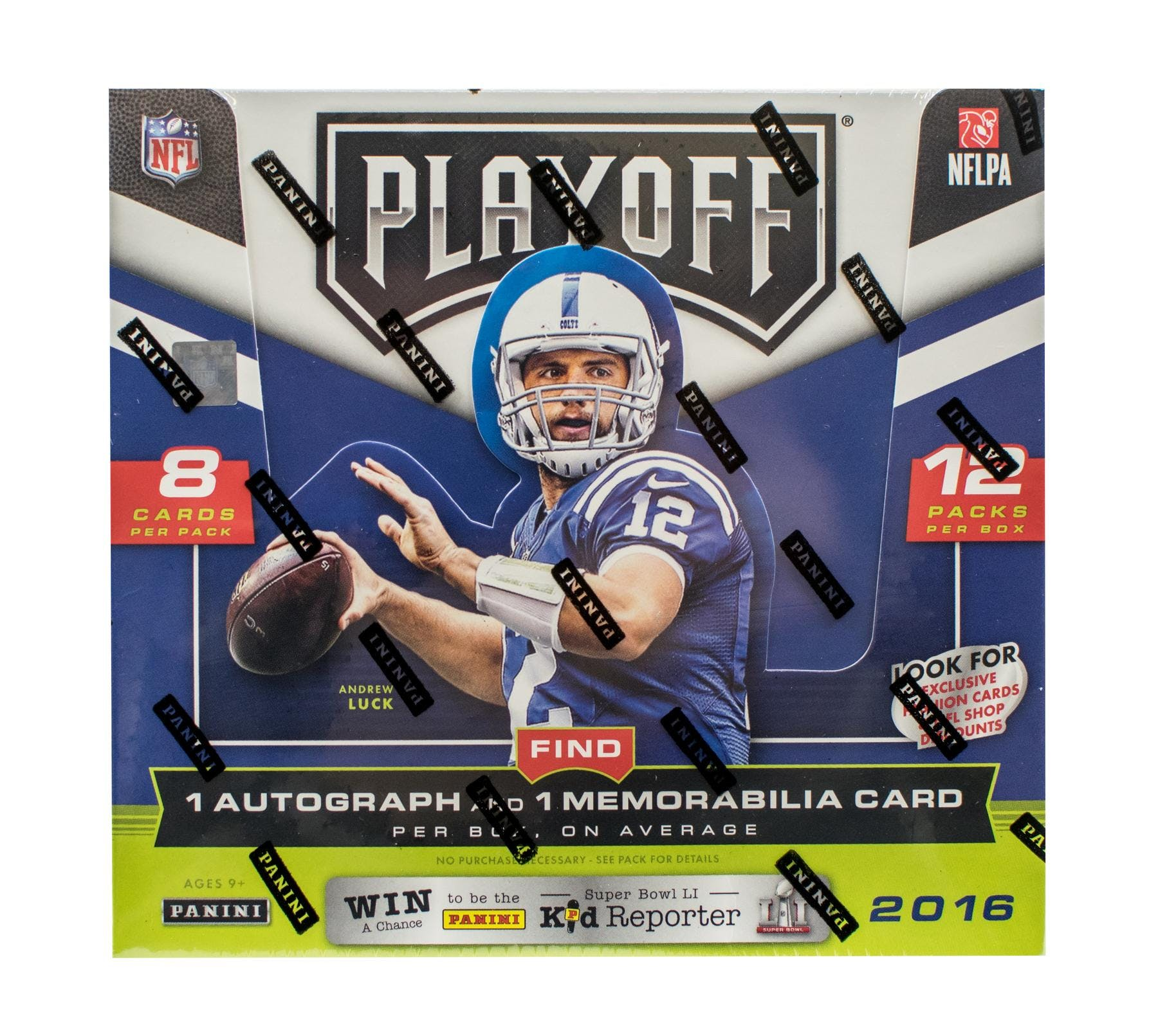 2016 Panini Playoff Football Hobby Box-Cherry Collectables