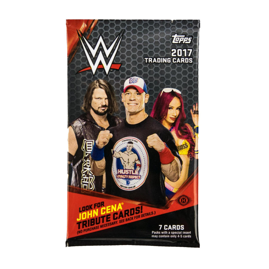 2017 Topps WWE Wrestling Hobby Pack-Cherry Collectables