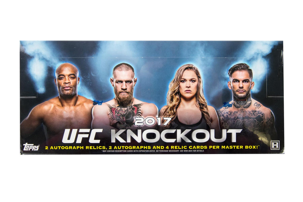 2017 Topps UFC Knockout Hobby Box-Cherry Collectables