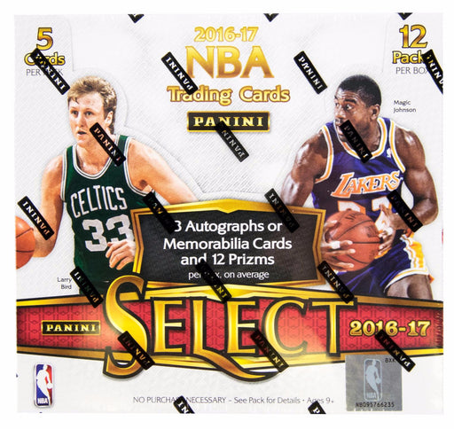 2016/17 Panini Select Basketball Hobby Box-Cherry Collectables