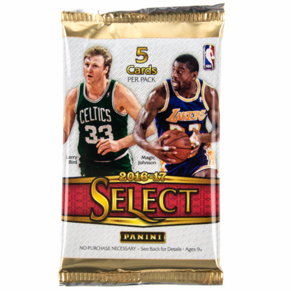 2016/17 Panini Select Basketball Hobby Pack-Cherry Collectables