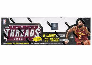2016/17 Panini Threads Basketball Hobby Box-Cherry Collectables